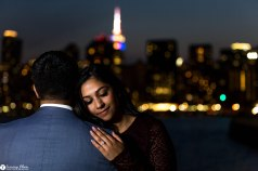 Hans and Nidhi Surprise Proposal - W-119