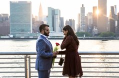 Hans and Nidhi Surprise Proposal - W-12