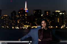 Hans and Nidhi Surprise Proposal - W-121