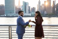 Hans and Nidhi Surprise Proposal - W-20