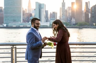 Hans and Nidhi Surprise Proposal - W-24