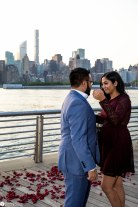 Hans and Nidhi Surprise Proposal - W-44