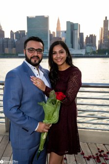 Hans and Nidhi Surprise Proposal - W-50