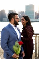 Hans and Nidhi Surprise Proposal - W-51