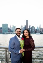 Hans and Nidhi Surprise Proposal - W-76